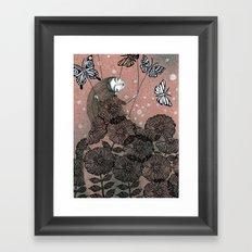 Night Garden (1) Framed Art Print