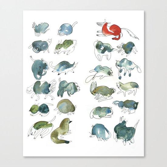 Animalzzz Canvas Print