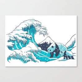 Ice Wave Canvas Print