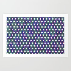 Faded Patches Art Print
