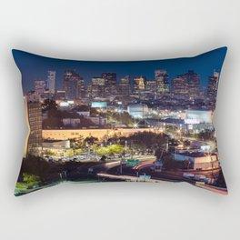 Boston panorama Rectangular Pillow