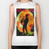 new orleans Biker Tanks featuring New Orleans  by Saundra Myles