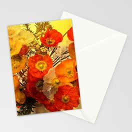 Poppy Expressions Stationery Cards