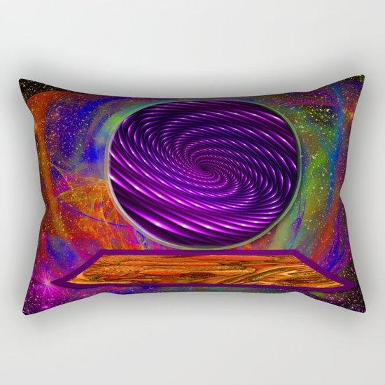 Peek Into The Future Rectangular Pillow