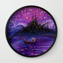 The Lantern Scene Wall Clock