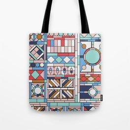 Pop art windows Tote Bag