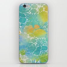 Flowers On The Wall iPhone & iPod Skin
