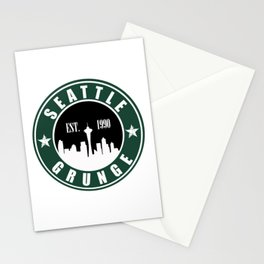 Seattle Grunge Stationery Cards