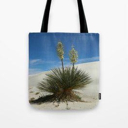 Soap Yucca In The White Sands Dunes Tote Bag