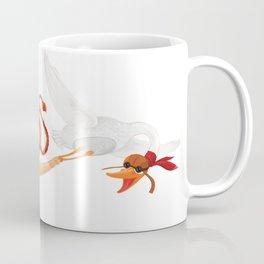 Girl and Goos Coffee Mug