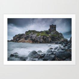 Kinbane Castle II Art Print