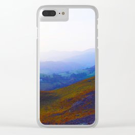Land of Legends - Blue, Green and Purple Clear iPhone Case