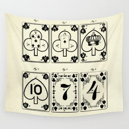 Playing Cards-1877 Wall Tapestry