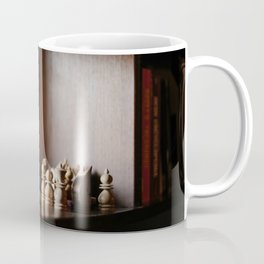 Library Shelves Coffee Mug