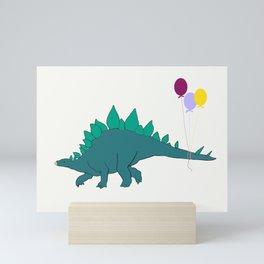 Where's the party? Mini Art Print