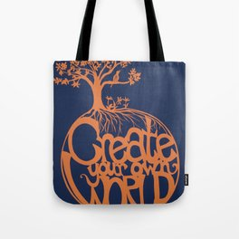 Create Your Own World Tote Bag