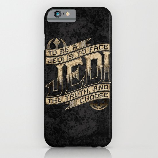 To Be A Jedi iPhone & iPod Case