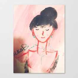 miss B Canvas Print