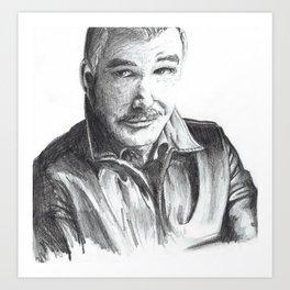 Burt Art Print