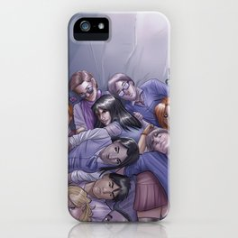 Morning Glories Skins iPhone Case