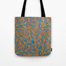 psychedelic Art Nouveau  Tote Bag