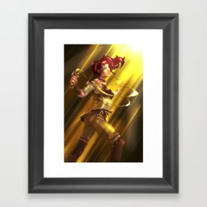 The Last Keeper of the Word Framed Art Print
