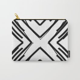 Light Uncolored | Saro-Gongo Pattern Carry-All Pouch