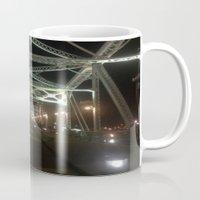 nashville Mugs featuring Nashville Nights by Anthony J. Newton Designs