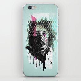 RIOT girl iPhone Skin