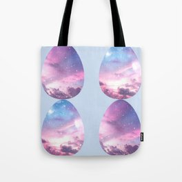 Space Eggs Tote Bag