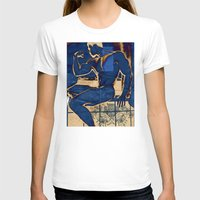 muscle T-shirts featuring Muscle. by Azure Cricket