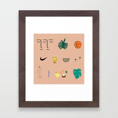 WWA Framed Art Print