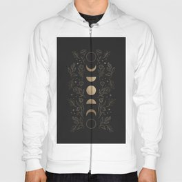 Gold Moon Phases Hoody
