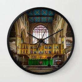 Magdalene church altar  Wall Clock