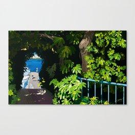 memories of gone summer [Secret Harbor] Canvas Print