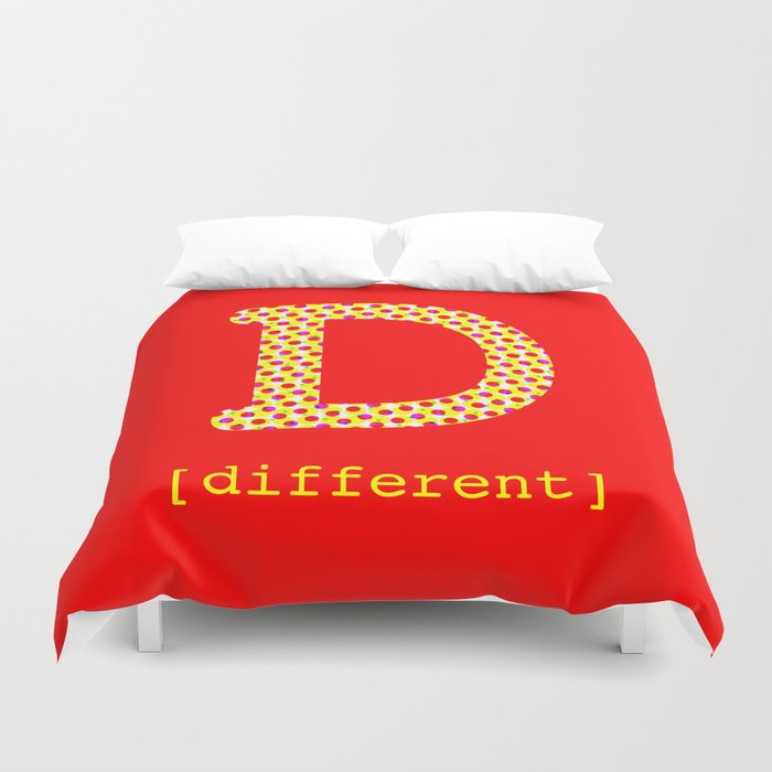 #D [different] Duvet Cover
