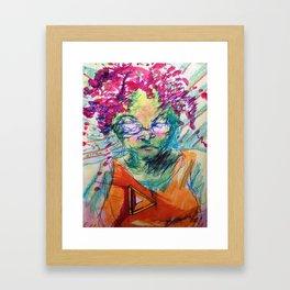 Ms.TitaniumAlloy Framed Art Print