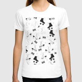 Roller skates pattern 07 T-shirt