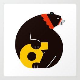 bear(6) Art Print