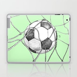 Goal in green Laptop & iPad Skin