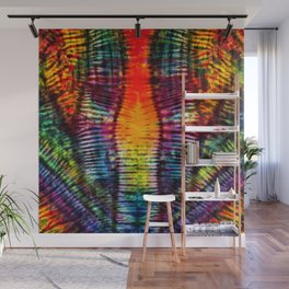 Moving on Up Tie Dye Wall Mural