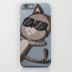 Sunbathing Cat Slim Case iPhone 6s