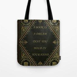 Book Quote 6 Tote Bag
