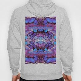 Purple and Pink Kaleidoscope Art Design Hoody