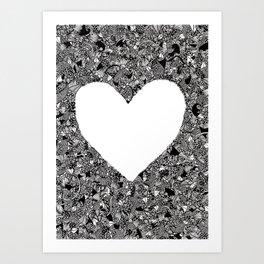 Heart 2 Art Print