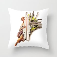 Sparklette | Collage Throw Pillow