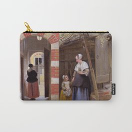 "Pieter de Hooch ""The Courtyard of a House in Delft"" Carry-All Pouch"