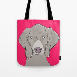 Cover Boy Weim Tote Bag
