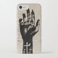 walking dead iPhone & iPod Cases featuring The Walking Dead by FCRUZ