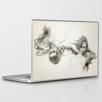 bond Laptop & iPad Skins featuring The Bond by ellaine